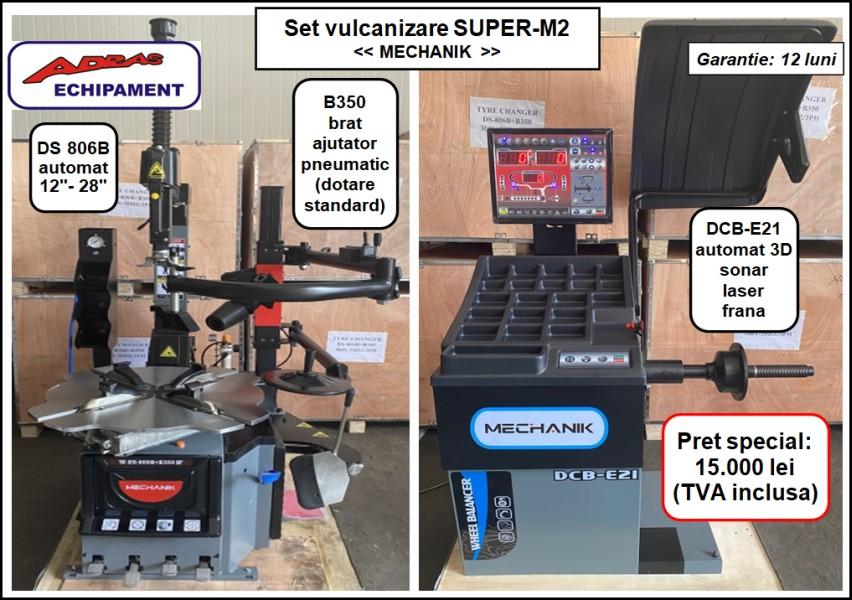 Set Super-M2 aparate dejantat si echilibrat roti