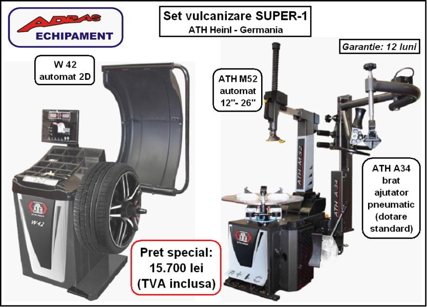 set vulcanizare SUPER-1