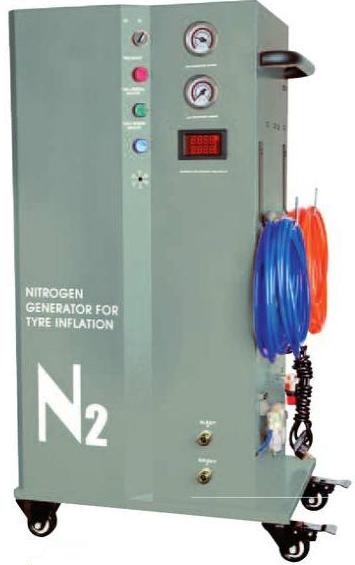 Generator de azot pentru umflat roti, cu rezervor propriu
